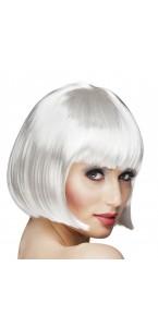 Perruque courte cabaret pour femme blanche