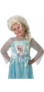 Perruque Elsa reine des neiges