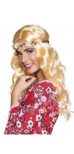 Perruque Joy blonde avec bandeau