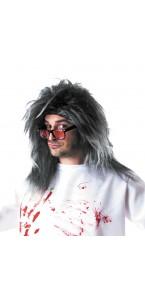 Perruque savant fou grise Halloween
