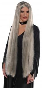 Perruque sorciere grise Halloween