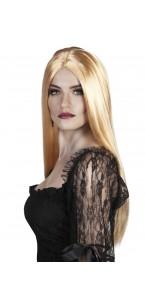 Perruque sorcière  Halloween blonde