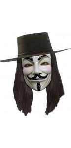 Perruque V pour Vendetta adulte
