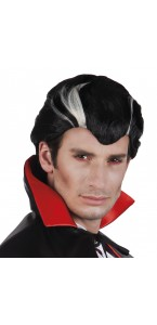 Perruque vampire pour homme Halloween