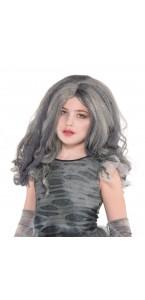 Perruque zombie fille Halloween