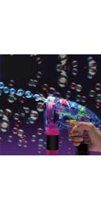 Pistolet lumineux à bulles avec recharge
