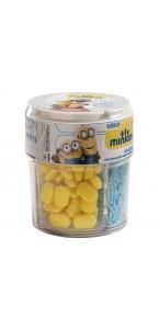Pot de confettis déco en sucre Minions 80 gr