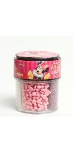 Pot de confettis déco en sucre Minnie 80 gr