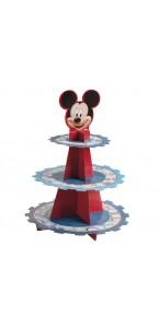 Présentoir à gâteau Mickey 3 étages  41 x 36 cm