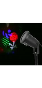Projecteur led paquets cadeaux multicolores 9 x 38 cm