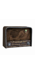 Radio cassée Halloween 31 x 11 x 21 cm
