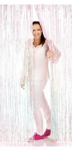 Rideau photobooth métallisé iridescent 2 x 1 m