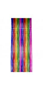 Rideau photobooth métallisé multicolore 2 x 1 m