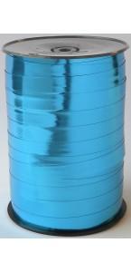 Rouleau de bolduc miroir turquoise 250 m