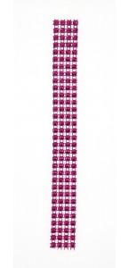 Rouleau de ruban strass fuschia 2 cm x 2 m