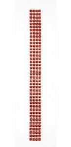 Rouleau de ruban strass rouge 2 cm x 2 m