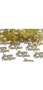 Sachet de Confettis de table Happy New Year 4 x 2 cm 3 gr