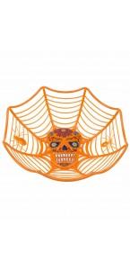 Saladier tête de mort Halloween 31 x 5.5 cm