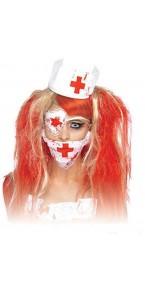 Set infirmière Halloween 3 pièces