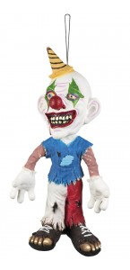 Suspension Clown effrayant 44 cm Halloween