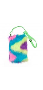 Sac Disco peluche multicolore