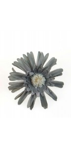 Sachet de 4 fleurs  gerberas grises