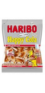 Sachet de bonbons Cola cœur coulant Haribo 100 g