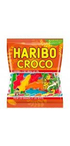 Sachet de bonbons Croco Haribo 120 g