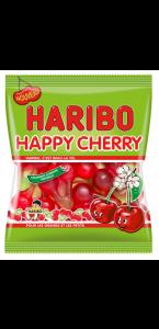 Sachet de bonbons Happy Cherry Haribo 100 gr