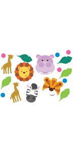 Sachet de Confettis de table Jungle 14 gr
