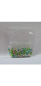 Sachet Perles Mutlicolores brillantes Qualité 70 gr supérieure