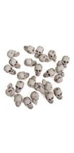 Sacs de crânes Halloween 2 x 1,3 x 1,5 cm