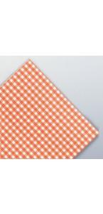 Serviettes petits carreaux vichy rouges épaisses en papier.v.sècheAVA 40x40 cm