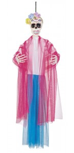 Suspension Catrina- Day Of The Dead  Halloween 90 Cm