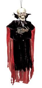 Suspension Squelette vampire  Halloween 99cm