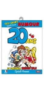 T-shirt humoristique 20 ans Homme
