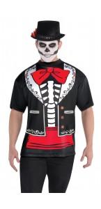 T-shirt Jour des Morts Halloween homme XL
