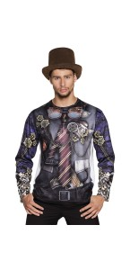 T-shirt photoréaliste MR Steampunk