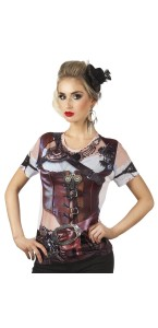 T-shirt photoréaliste MRS Steampunk
