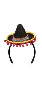 Tiare Mexique en forme de chapeau