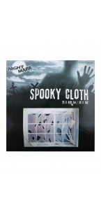 Tissu/Vêtement de fantôme Halloween 76 x 400 cm