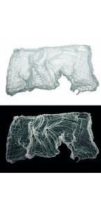 Tissu/Vêtement de fantôme Halloween 50 x 350 cm