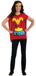 Tee-shirt imprimé Wonderwoman adulte taille M