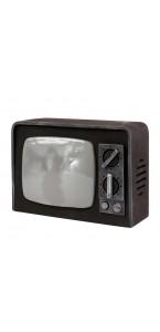 Télévision cassée Halloween 13 x 31 x 21 cm