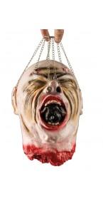 Tête coupée avec chaînettes Halloween