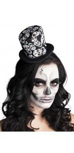Tiare Chapeau tête de mort Halloween