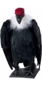 Vautour noir 29 cm