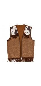 Veste Cowboy marron 60 cm
