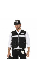 Veste FBI/CSI et casquette