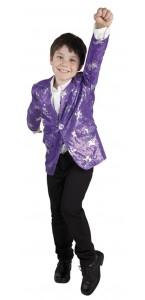 Veste Star Violette enfant 4/6ans